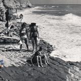 """Кабардинка. Пляж турбазы """"Маяк"""", 1968 год"""
