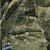 Горячий ключ. Отвесная скала вблизи грота имени Гоголя, до 1917 года