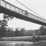 Горячий Ключ. Пешеходный мост.