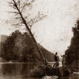 Горячий Ключ. Река Псекупс. 1937 г.