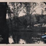 Курорт Горячий Ключ. Висячий мост, 1951 год