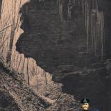 Майкоп. Окрестности Майкопа - Ущелье в мороз, до 1917 года