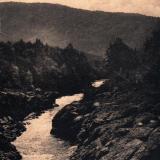 Майкоп. р. Белая близ сел. Хамышки, около 1917 года