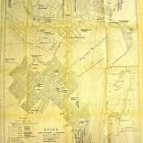 Карта  План города Новороссийска с окрестностями  М.Н.Назаренко 1896 г. изданный в типографии А.А. Тиль.