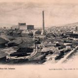 Новоросийск. Общий вид элеватора, около 1906 года