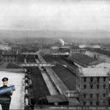 Новороссийск. Амбары Владикавказской ж.д., оборудованные механич. приспособл., около 1907 года