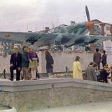 Новороссийск. Памятник самолету ИЛ-2, 1978 год