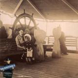"""Новороссийск. На пароходе """"Цесаревич Георгий"""", 1912 год"""