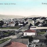 Новороссийск. Общий вид города и Собор, около 1917 года