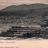 Новороссийск. Общий вид на бухту, около 1906 года
