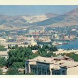 Новороссийск. Панорама города, 1982 год