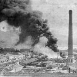 Новороссийск. Пожар в Таможенном дворе, 11 сентября 1908 года