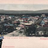 Новороссийск. Северо-западная сторона с высоты птичьего полета, до 1906 года