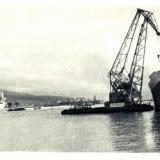 Новороссийск. Морской торговый порт, 1966 год