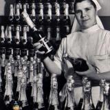Советское шампанское АБРАУ в экспертном оформлении