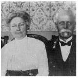 Одно из последних прижизненных фото Ф.В. Ляха с супругой 1915 г