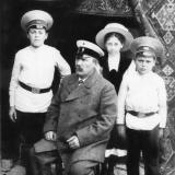 Семья инспектора П.И.Намченко