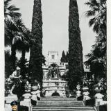 Сочи. Дендрарий, главная лестница, 1954 год