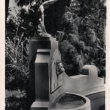 Сочи. Дендрарий. Купальщица, 1950 год