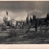 Сочи. Городской сквер с памятником Ленина, 1934 год