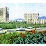 Корпуса объединения пансионатов в Адлере, 1978 год