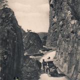 Сочи. Красно-полянское шоссе, около 1917 года