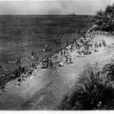 СОЧИ. Пляж у городского парка, 1935 год