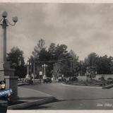 Сочи. Сквер у Ривьеры, 1940 год