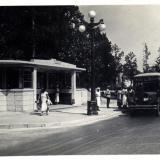 """Сочи. Остановка автобусов """"Калифорния"""", 1937 год"""