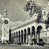 Сочи. Вокзал, 1955 год