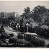 Сочи. Вид на проспект им. И.В.Сталина, 1955 год