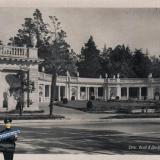 Сочи. Вход в Дендрарий, 1940 год