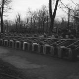 Краснодар. КСХПВ. Животноводческий сектор. Вольеры с нутриями. 1956 год.