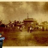 Темрюк. У входа в Городской сад, до 1917 года