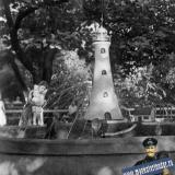 """Туапсе. Фонтан """"Маяк"""", 1960 год."""
