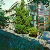 """Туапсе. Один из корпусов санатория """"Весна"""", 1978 год."""