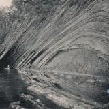 Туапсе. Пещера у берега Черного моря, около 1910 года