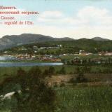 Туапсе. Туапсе с восточной стороны, до 1917 года