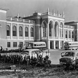 Туапсе. Железнодорожный вокзал, 1960 год