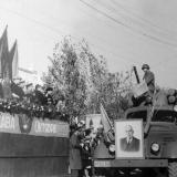 Усть-Лабинск. Демонстрация 40 лет Октября, 1957 год