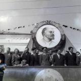 Усть-Лабинск. Первомай в Усть-Лабинске, 1959 год