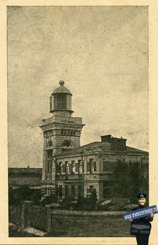 Анапа. Вид на маяк, 1926 год