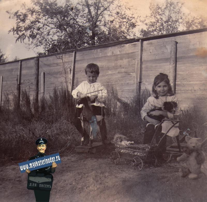 Ейск. Двор Фисенко Евг. Ив., 1914 год