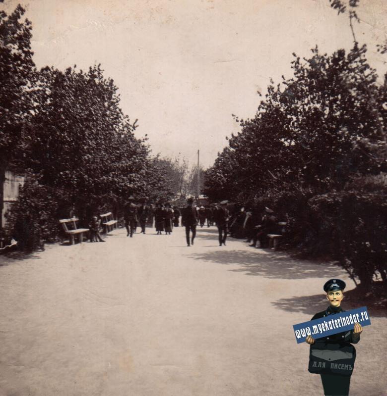 Ейск. Бульвар, около 1914 года