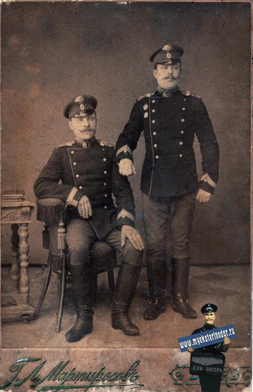Ейск. Фотоателье Мартиросова Г.Л., 1890-е