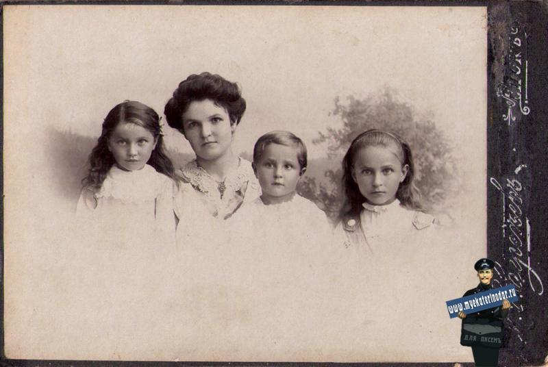 Ейск. Фотограф М.С. Сергеев, 1912 год