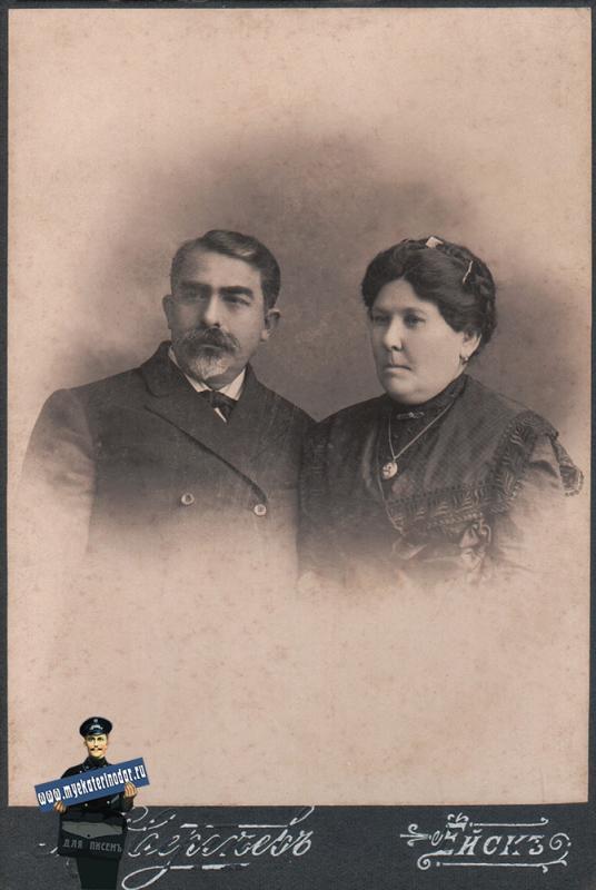 Ейск. Фотограф Сергеев М.С. с супругой