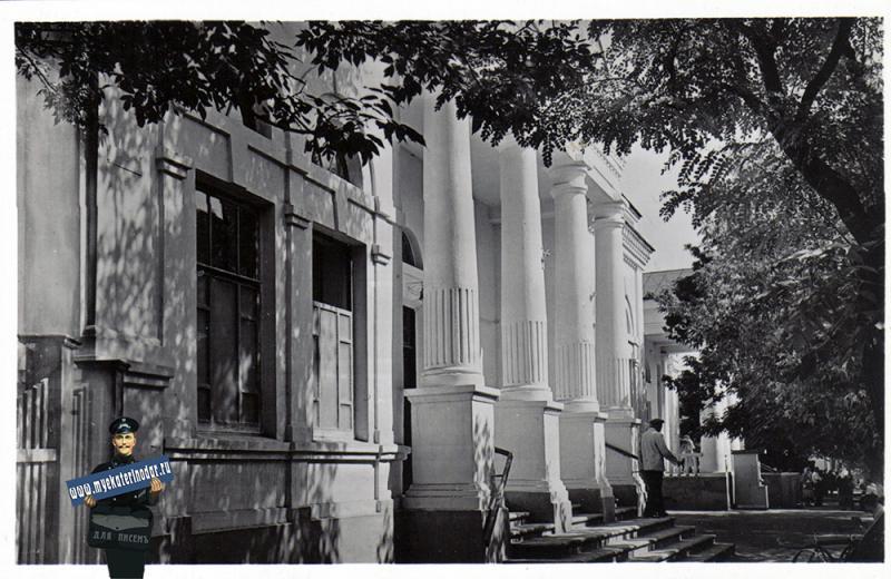 Ейск. Грязелечебница, около 1965 года