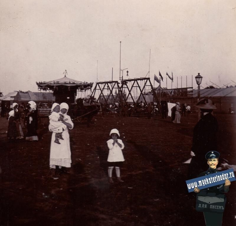 Ейск. На ярмарке, 1914 год