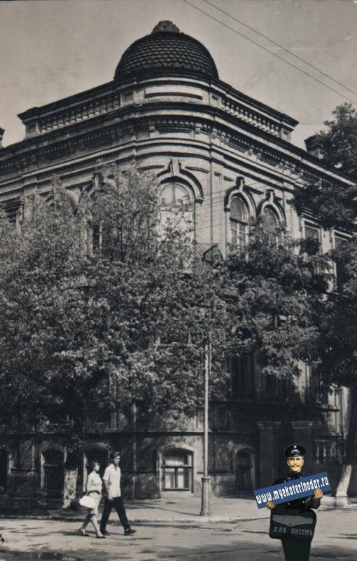 """Ейск. Санаторий """"Ейск"""", 1970 год"""